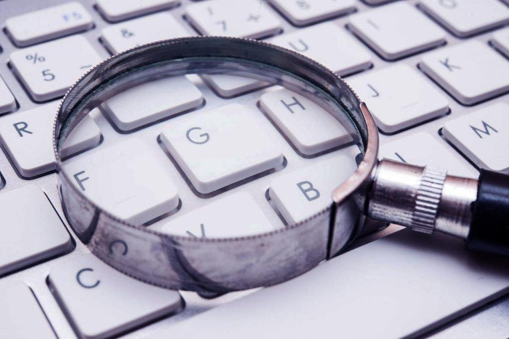 Пошук і клавіатура