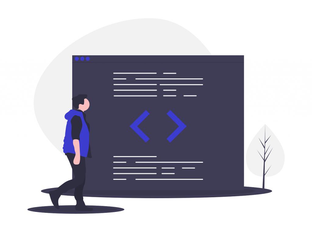 Розробник сайтів програміст і код