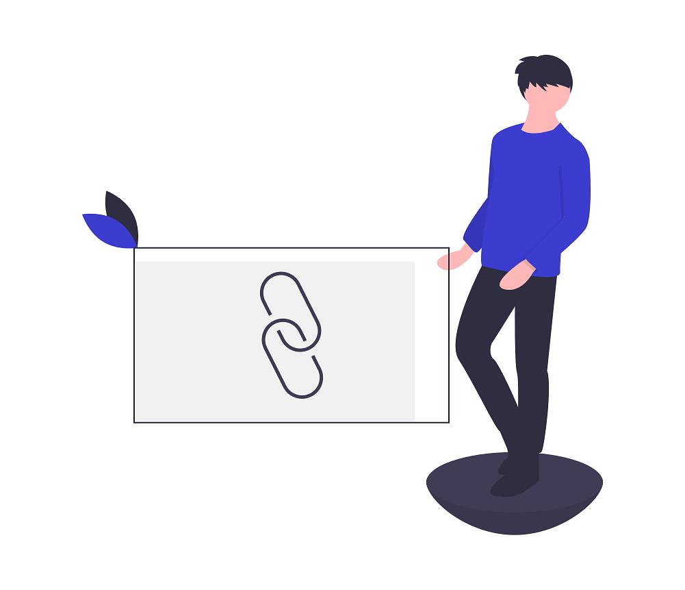Лінкбілдер - ілюстрація посилання